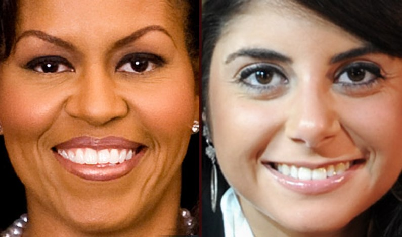 Michelle Obama e Silvia Lanzafame: First Lady dell'Orto e del Cibo Sano