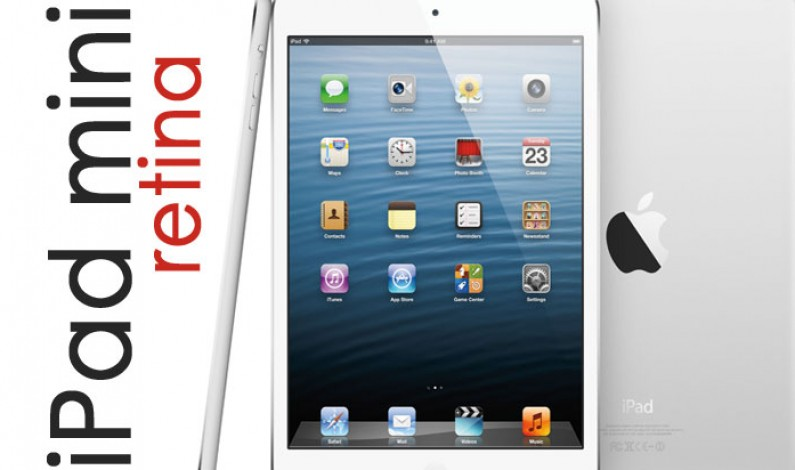 iPad mini Retina da oggi disponibili in rete