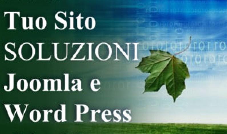 Il tuo Sito in 7 giorni: Joomla e Word Press