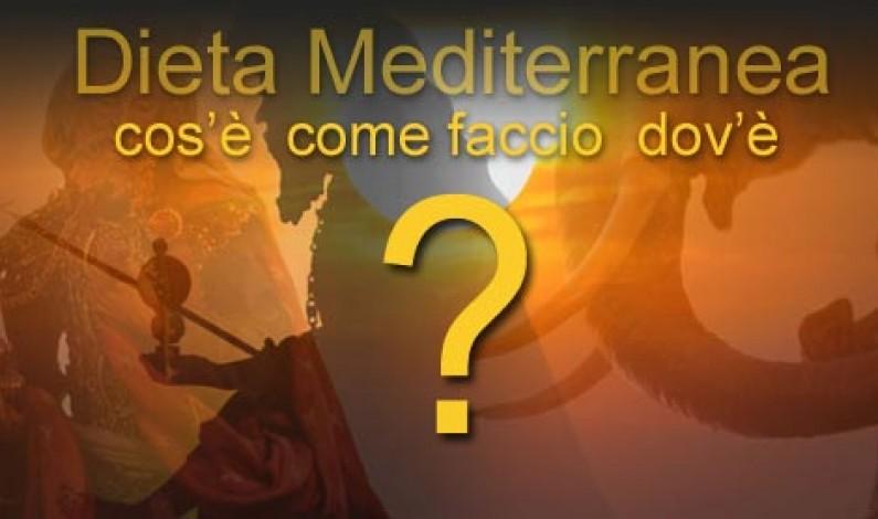 Dieta Mediterranea: la grande sconosciuta
