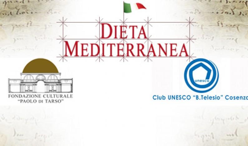 """Dieta Mediterranea: protocollo per Club UNESCO Cosenza e la """"Paolo di Tarso"""""""
