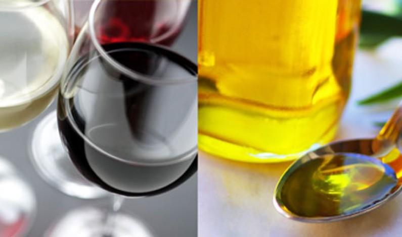 Vino e Olio coppia d'assi  per l'agroalimentare made in Italy nell'Export
