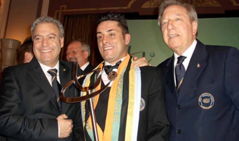 Luca Martini, Toscano, campione del Mondo del Wordwine Somelier Association