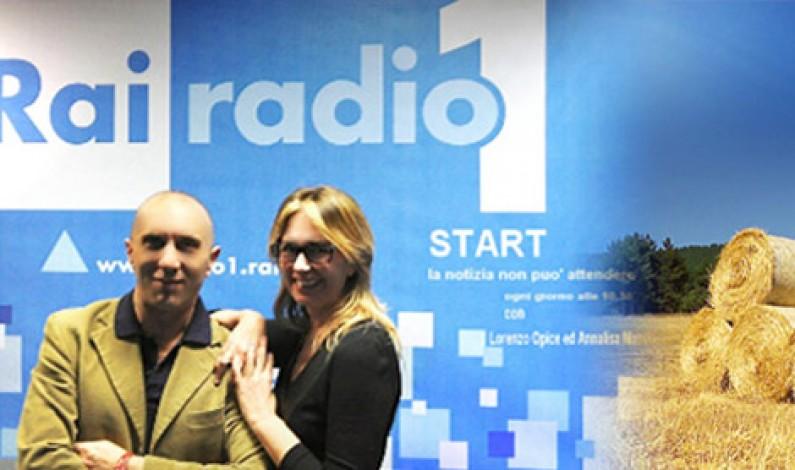 Il nostro grazie ad Annalisa Manduca e Lorenzo Opice di START – RAI RADIO 1
