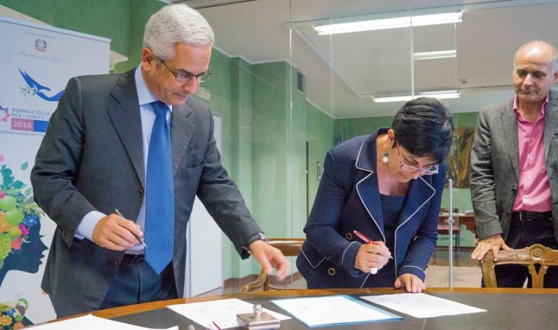 Città di Rende aderisce a BIENNALE della Dieta Mediterranea per i Diritti Umani al Cibo Sano