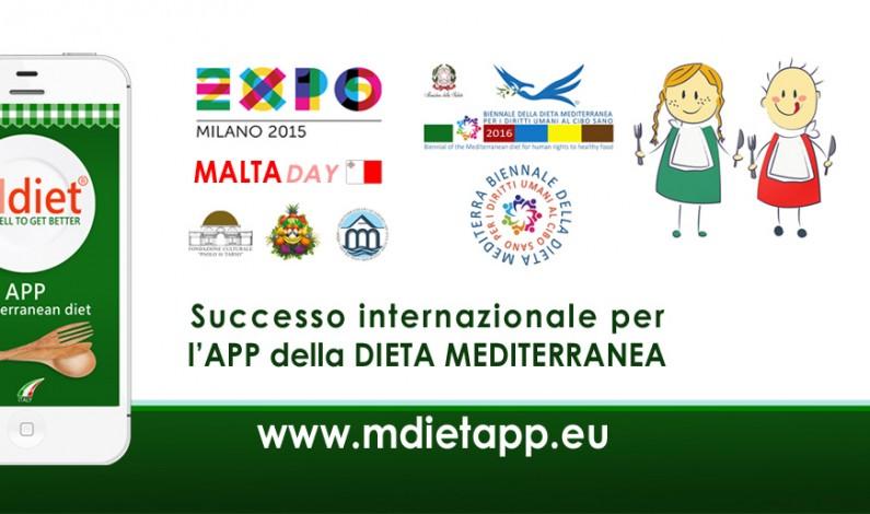 I segreti del successo dell'APP della Dieta Mediterranea che piace a EXPO 2015