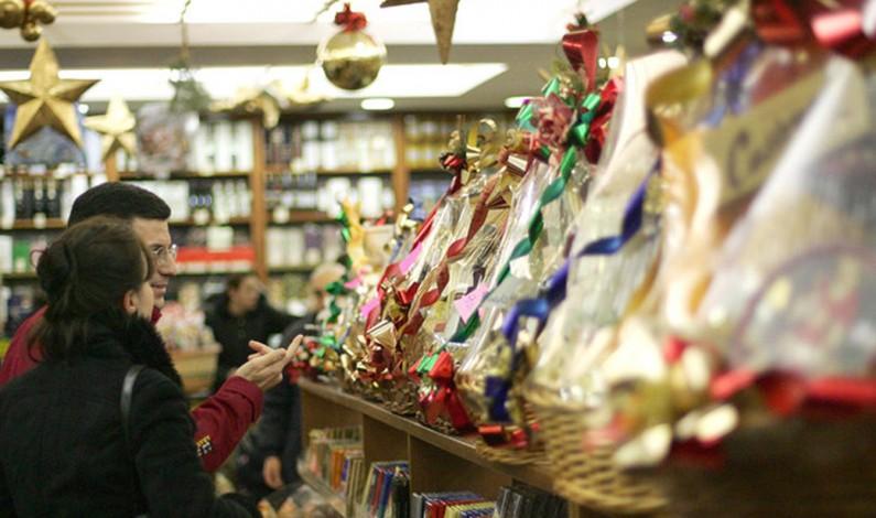 Coldiretti: a Natale si regalano cesti con alimenti tipici