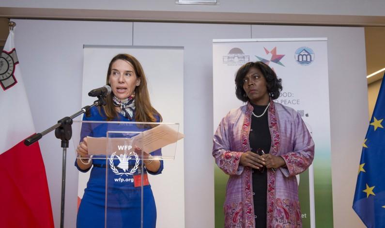 """L'APP della Dieta Mediterranea  """"MDiet"""" nella sede centrale del World Food Programme (PAM – Programma Alimentare  Mondiale)"""