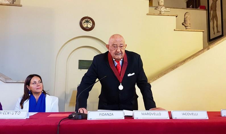 Prof. Alberto Fidanza: XVII Symposium Internazionale di Vitaminologia