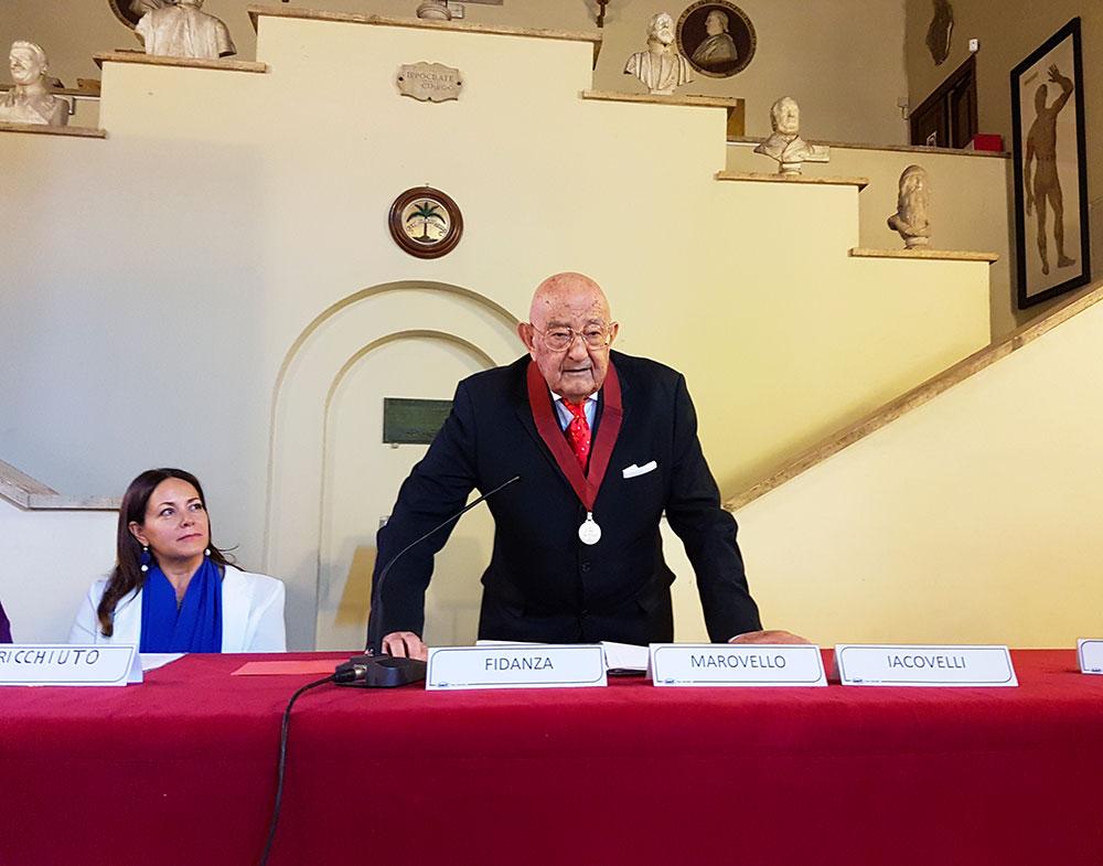 Il Prof. Alberto Fidanza